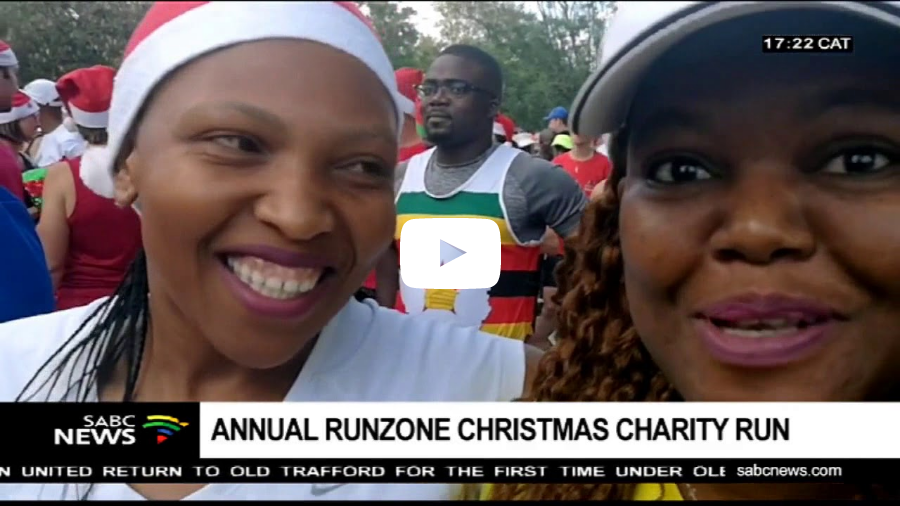 Run Zone Athletics Club holds its annual Christmas Gift run
